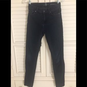 7 FOR ALL MANKIND GWENEVERE SIZE 26 BLUE